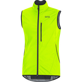 GORE WEAR C3 Gore Windstopper Light Chaleco Hombre, neon yellow/black